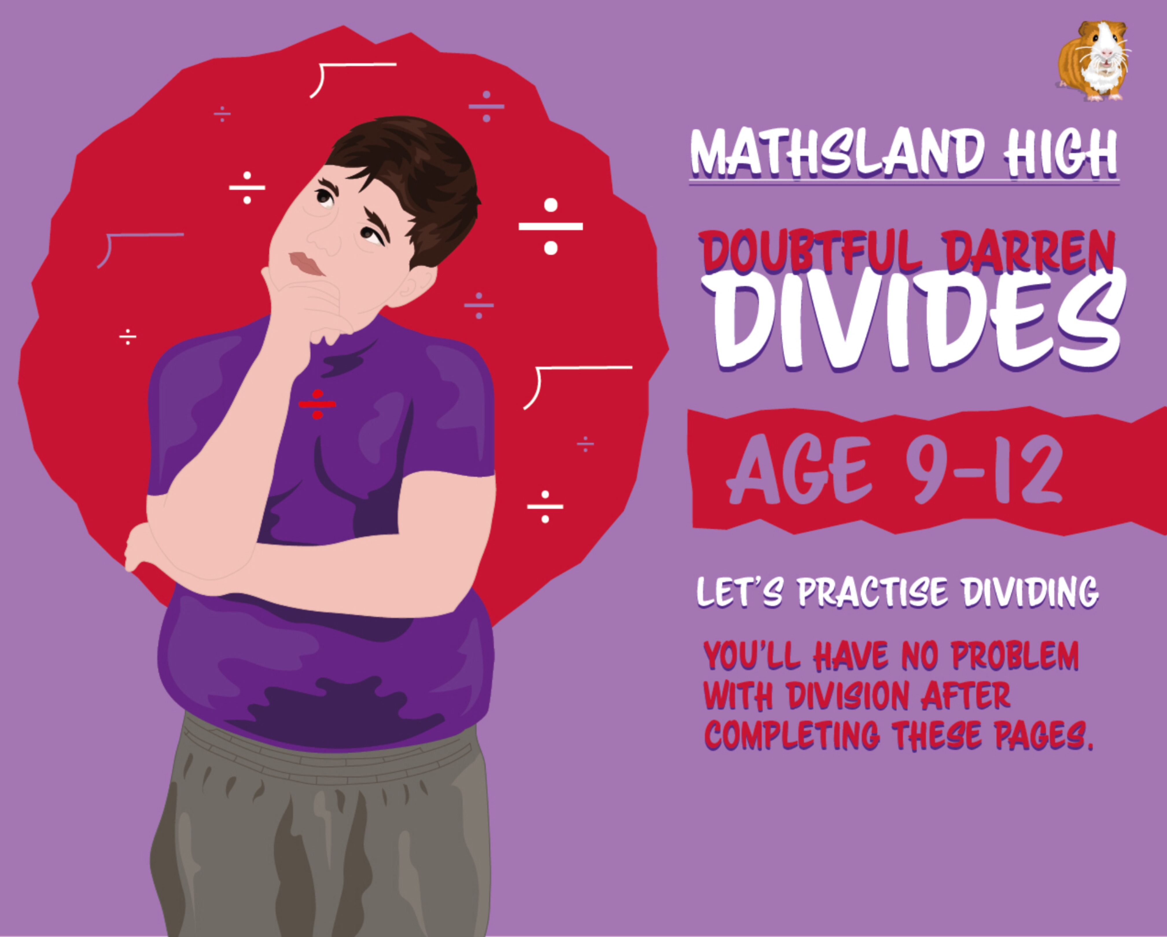 Division & Long Division Practice Questions - Age 9-12