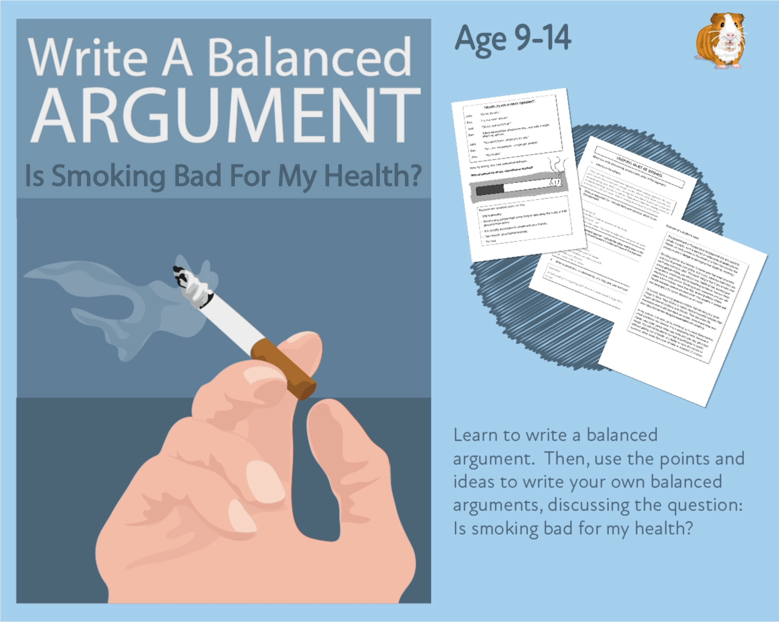 Practise Writing A Balanced Argument: Is Smoking Bad For My Health? (9-14 years)