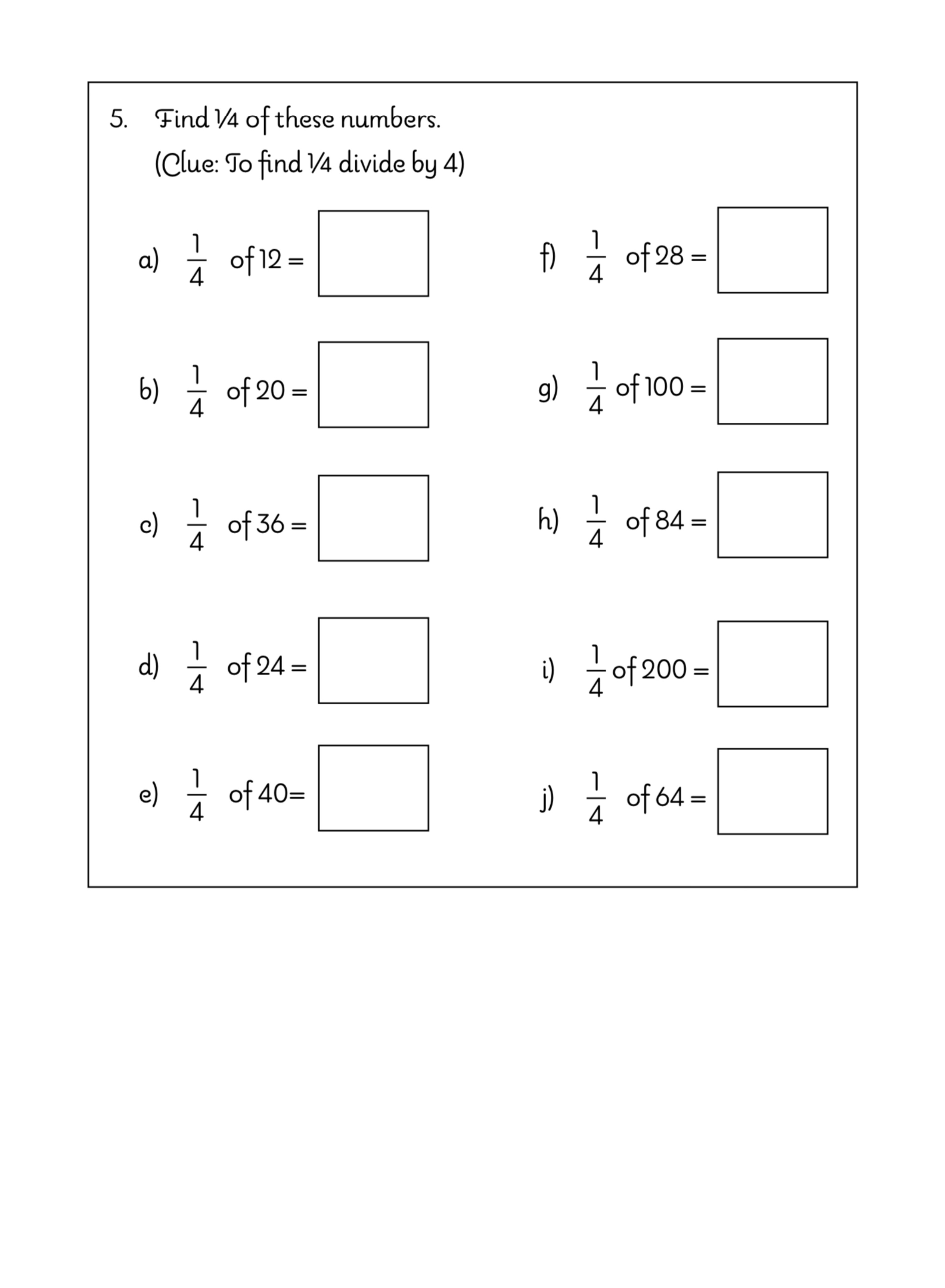 Let's Practise Maths: Fractions (9-12 years)