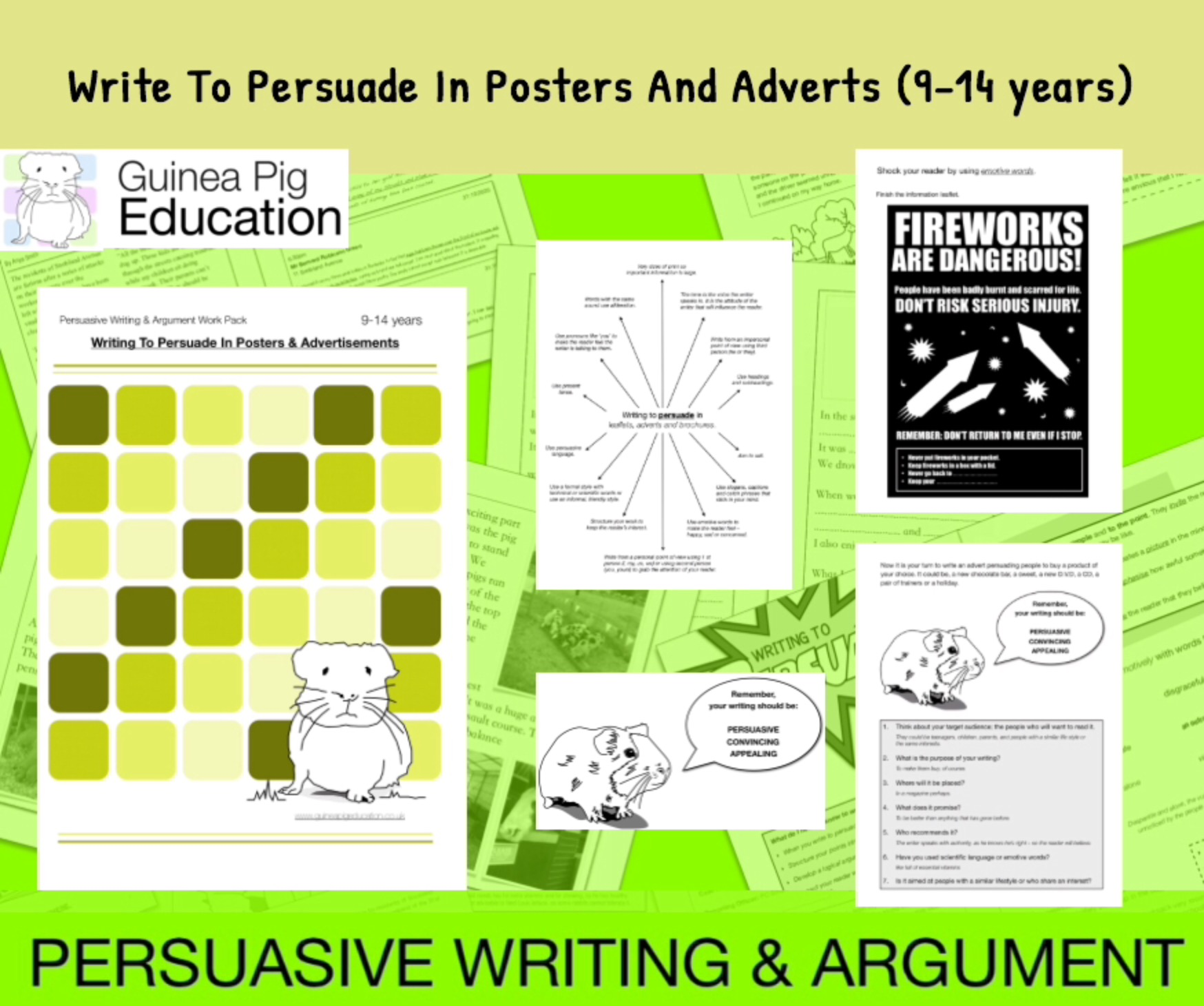 How To Write To Persuade In Posters And Adverts (9-14 years)