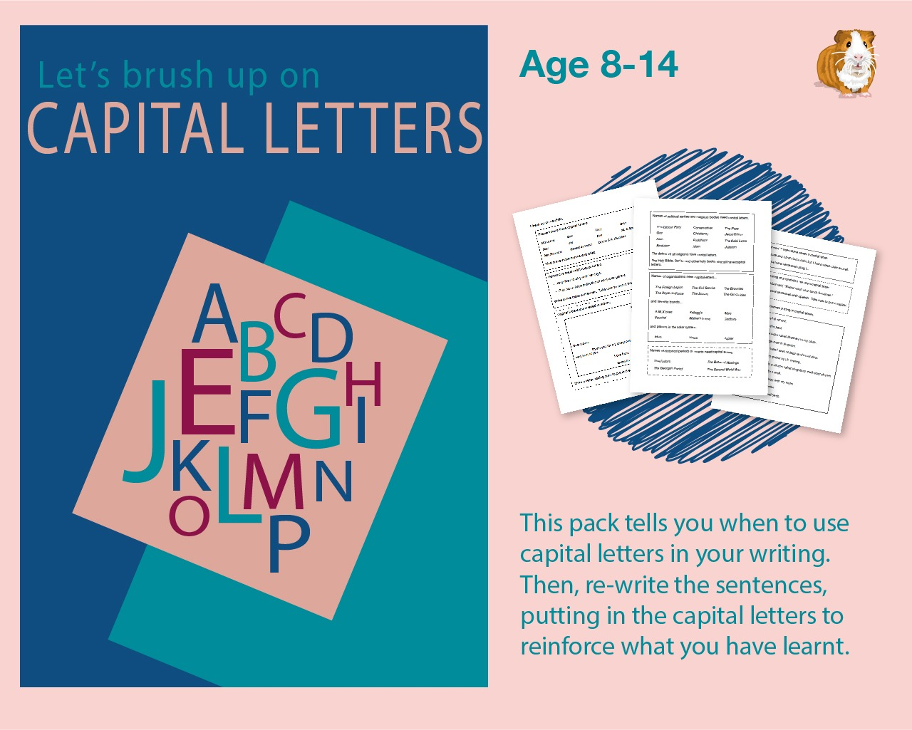 Let's Brush Up On Capital Letters (Improve Your English) 9-14 years