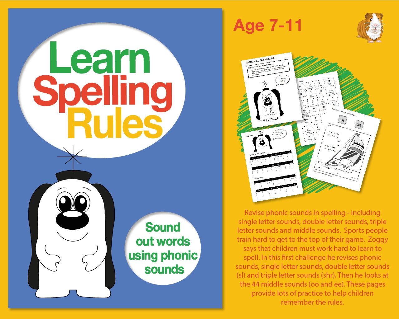 Learn Spelling Rules Challenge 1: Sound Out Words Using Phonic Sounds (7-11 years)