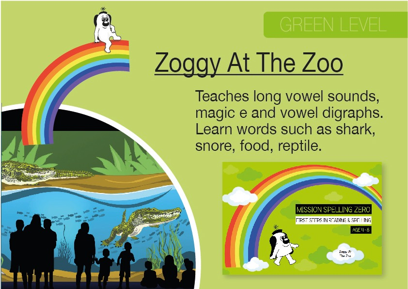 Zoggy At The Zoo (E-book)