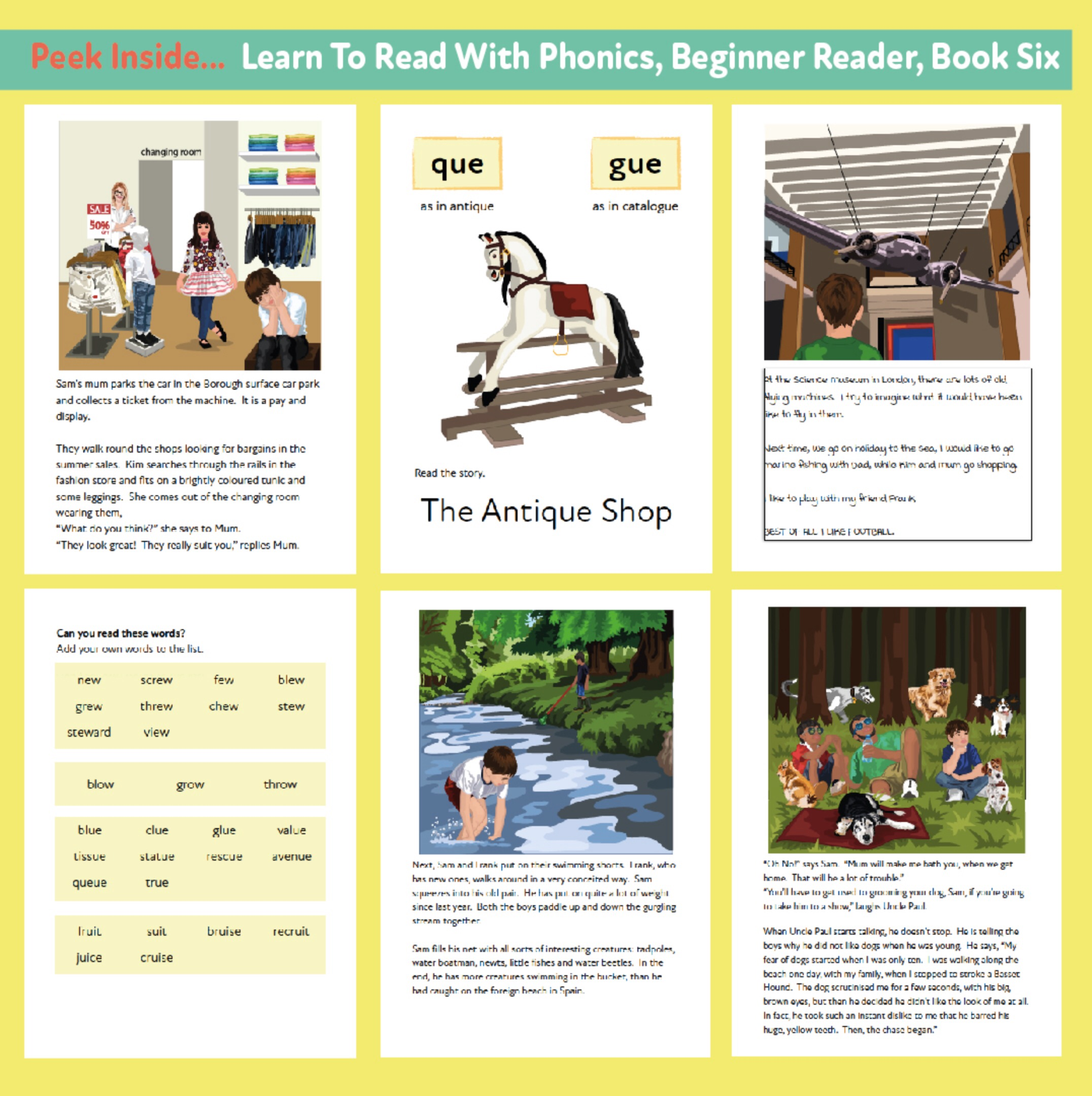 Learn to Read Rapidly with Phonics: Beginner Reader Book 6: Print Book