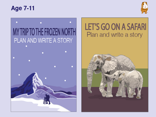 Write Lots Of Stories About Being Out And About: Pack 2 (7-11 years)