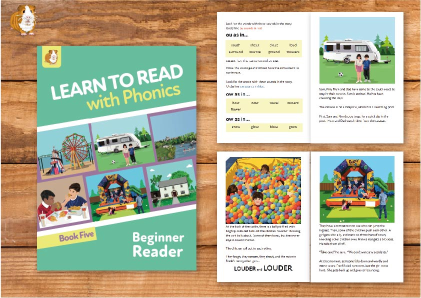 7. Learn to Read with Phonics | Beginner Reader Book 5 | Print Book