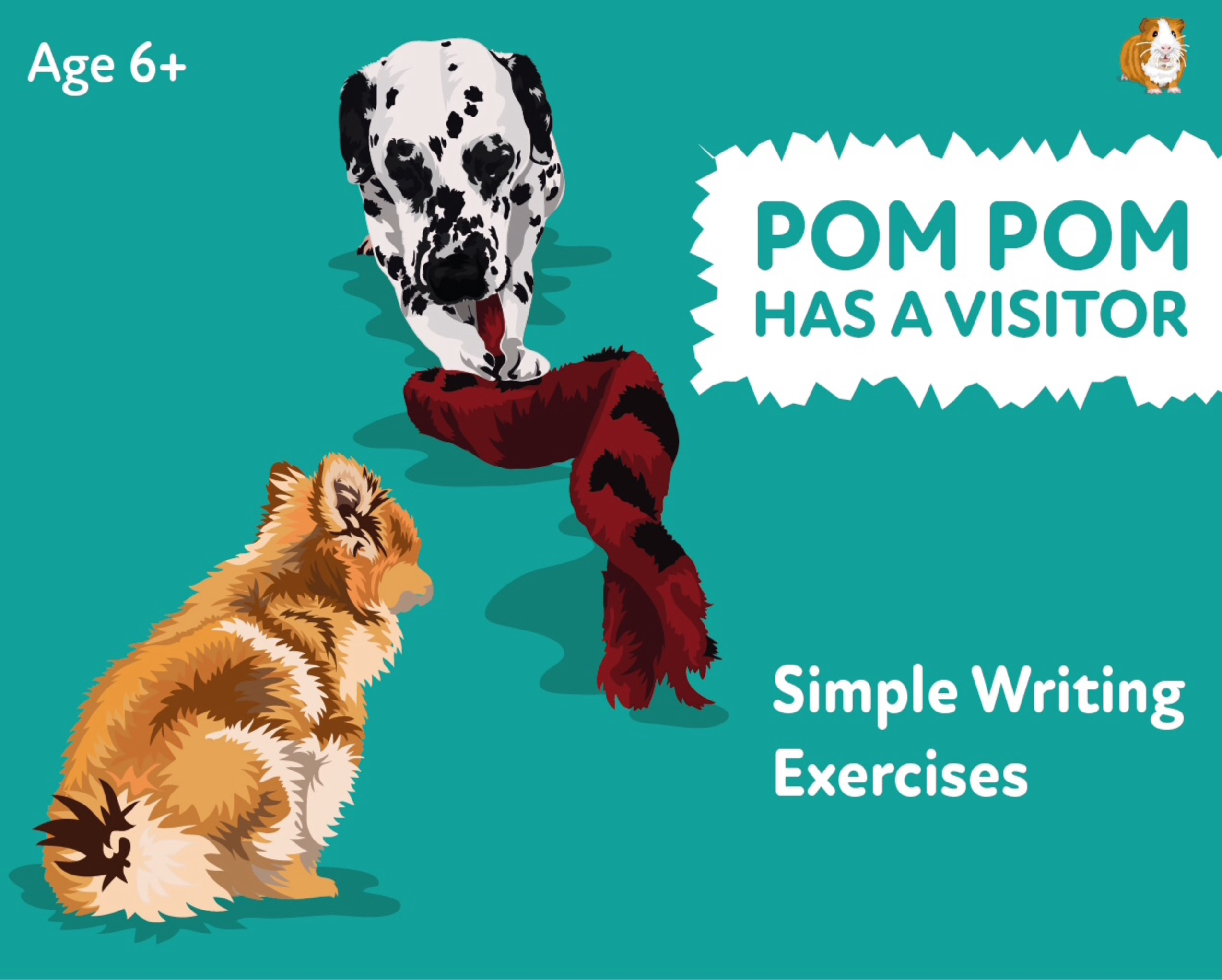 'Pom Pom Has A Visitor' A Fun Writing And Drawing Activity (6 years +)