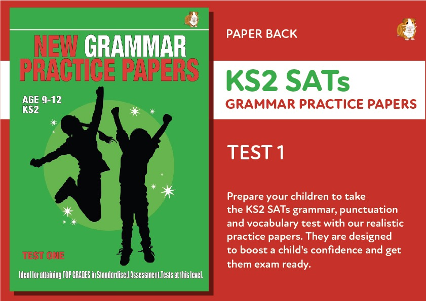 KS2 SATS Grammar, Punctuation & Vocabulary Practice Papers: Test One (Print Edition)