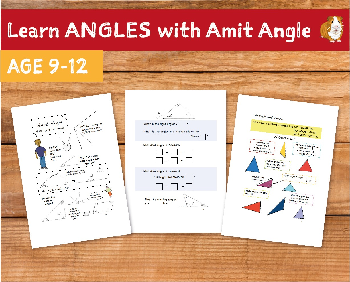 Learn Angles With Amit Angle (9-12 years)