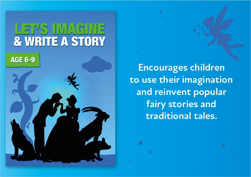 Let's Imagine And Write A Story (6-9 years) Digital Download