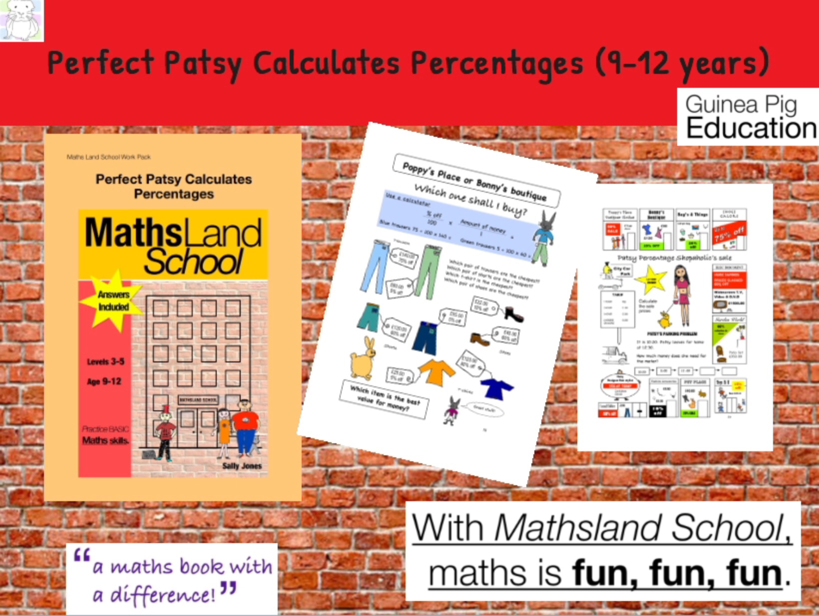 Perfect Patsy Percentage Calculates Percentages (9-12 years)