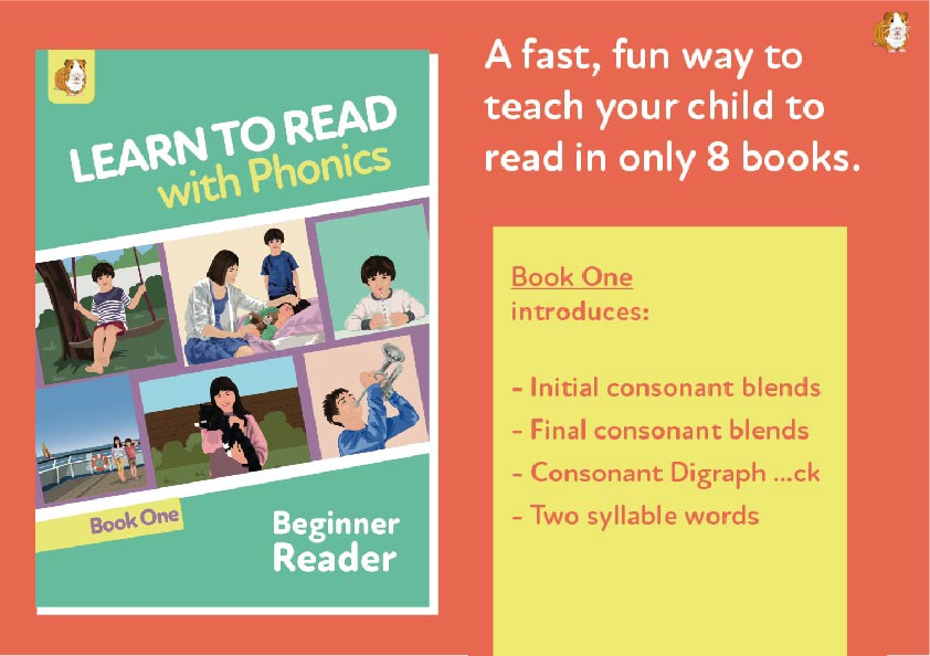 3. Learn To Read With Phonics | Beginner Reader Book 1 | Digital Download