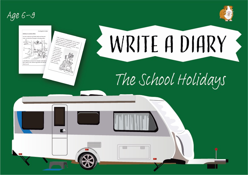 It's Fun To Write A Diary About What I Did During School Holidays (6-9 years)