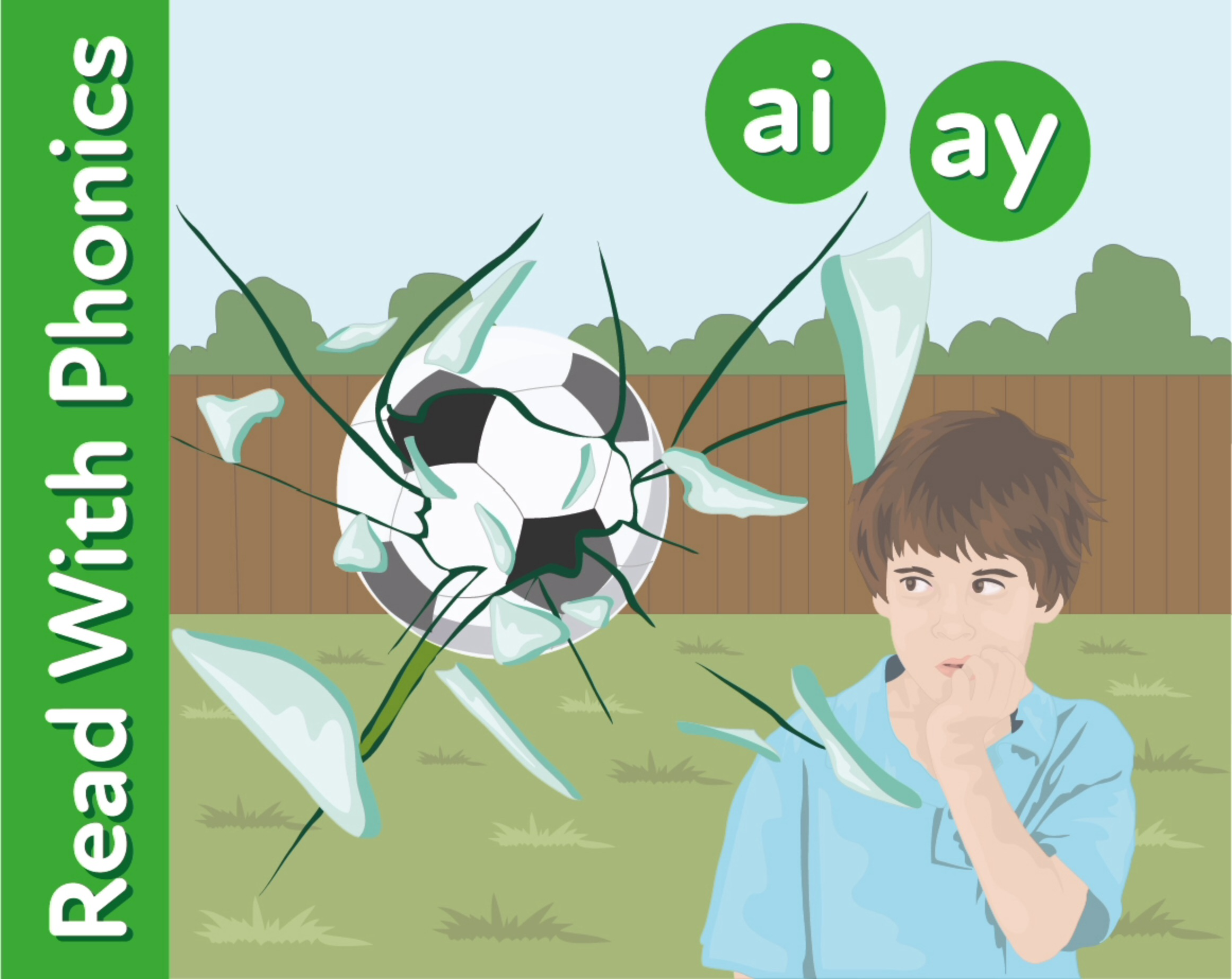Learn The Phonic Sounds 'ai' and 'ay'