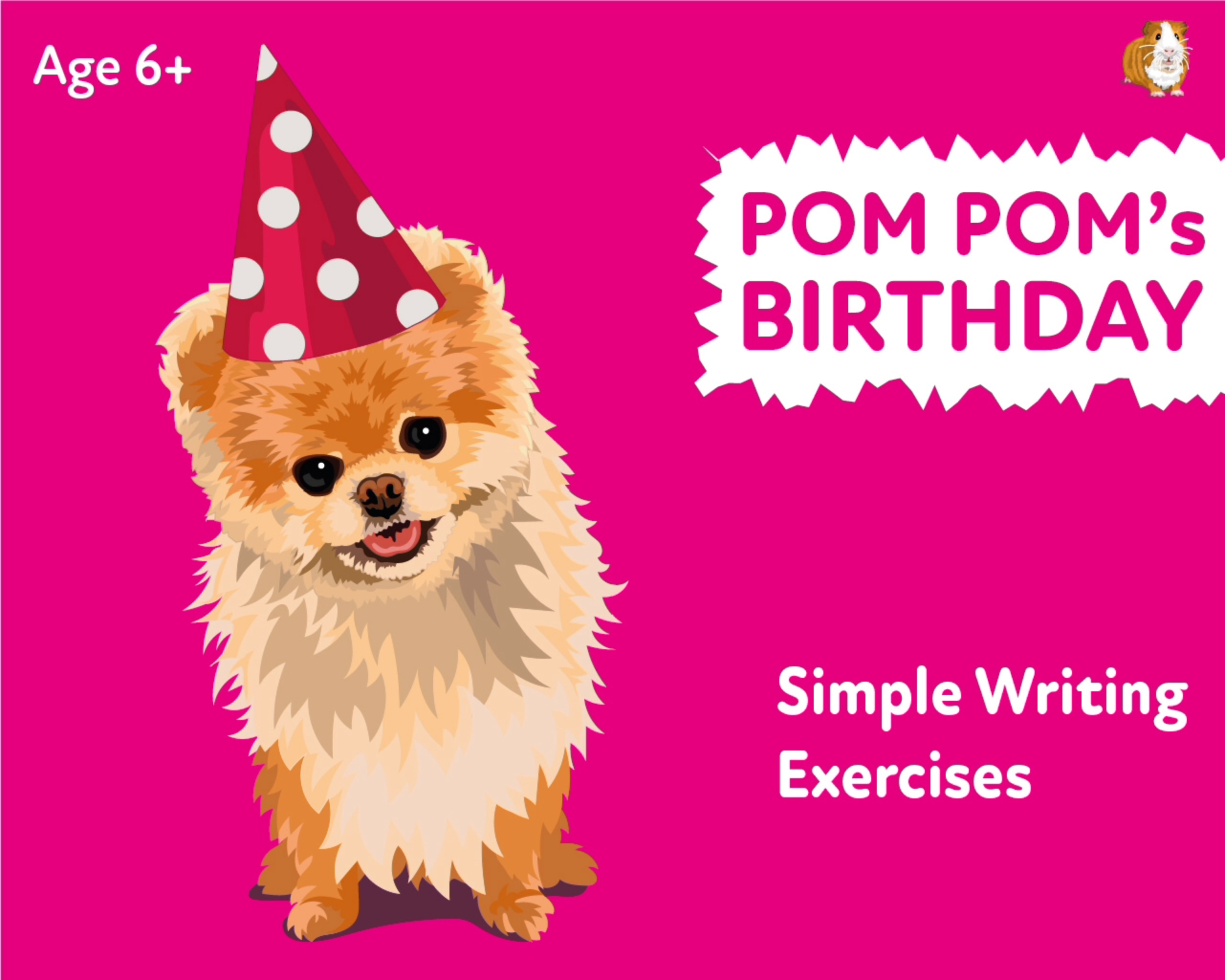 'Pom Pom's Birthday' A Fun Writing And Drawing Activity (6 years +)