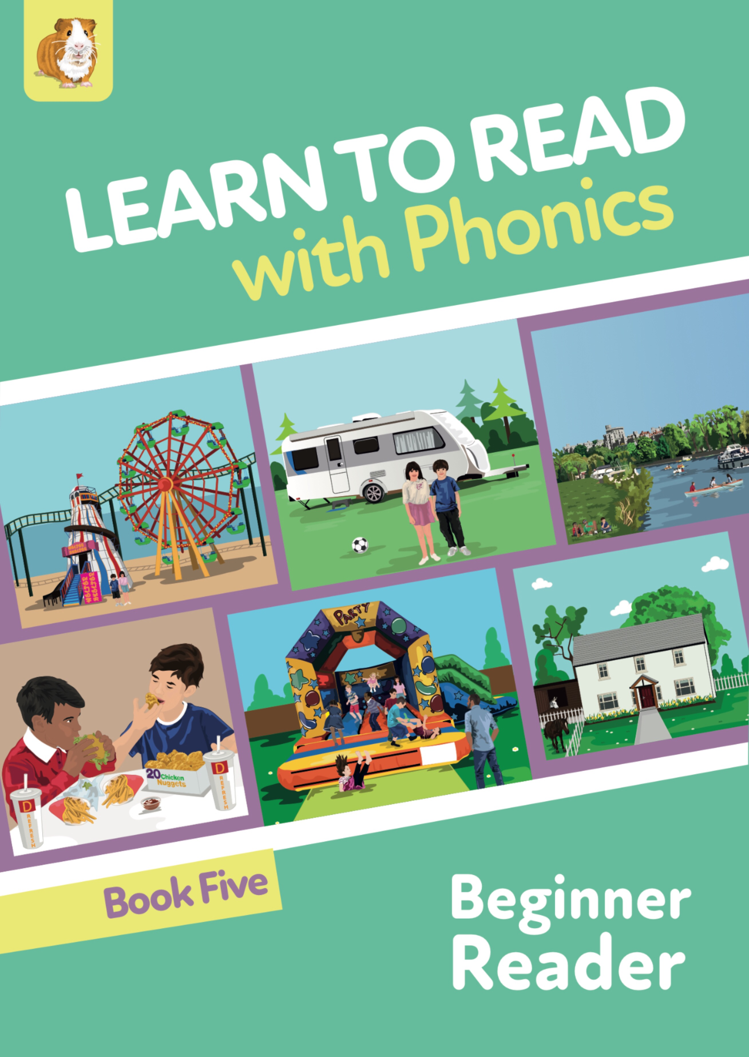Learn to Read Rapidly with Phonics: Beginner Reader Book 5: Print Book