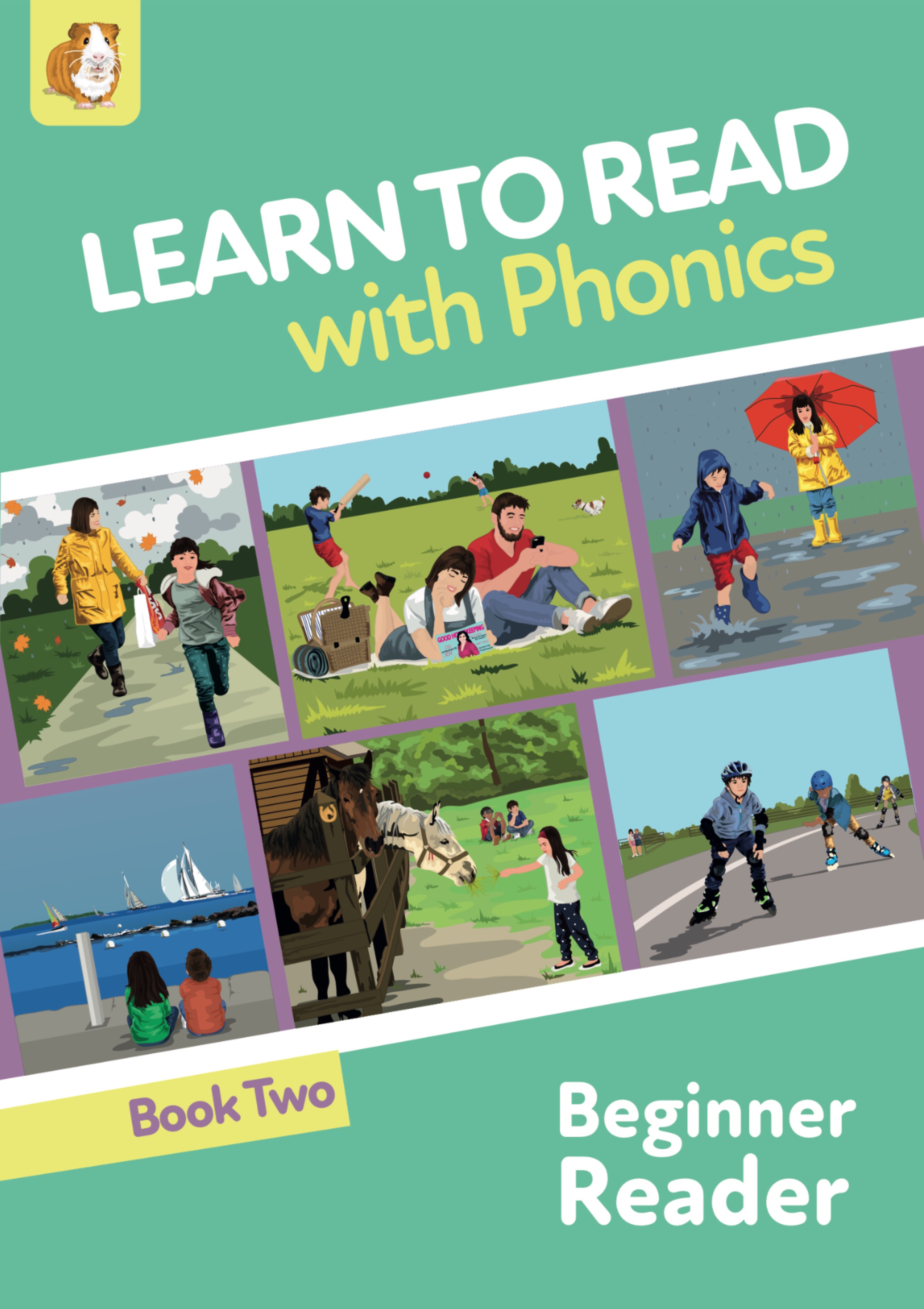 Learn to Read Rapidly With Phonics: Beginner Reader Book 2: Print Book