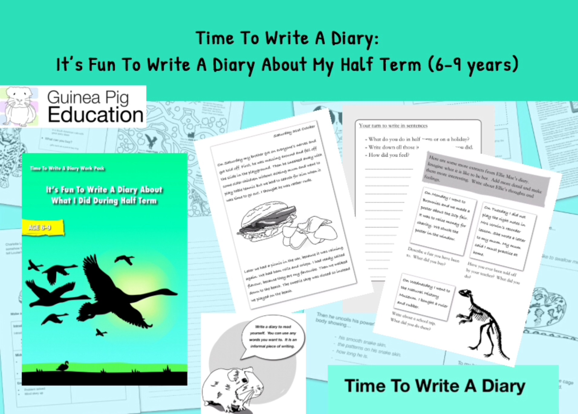 It's Fun To Write A Diary About What I Did During The School Holidays (6-9 years)