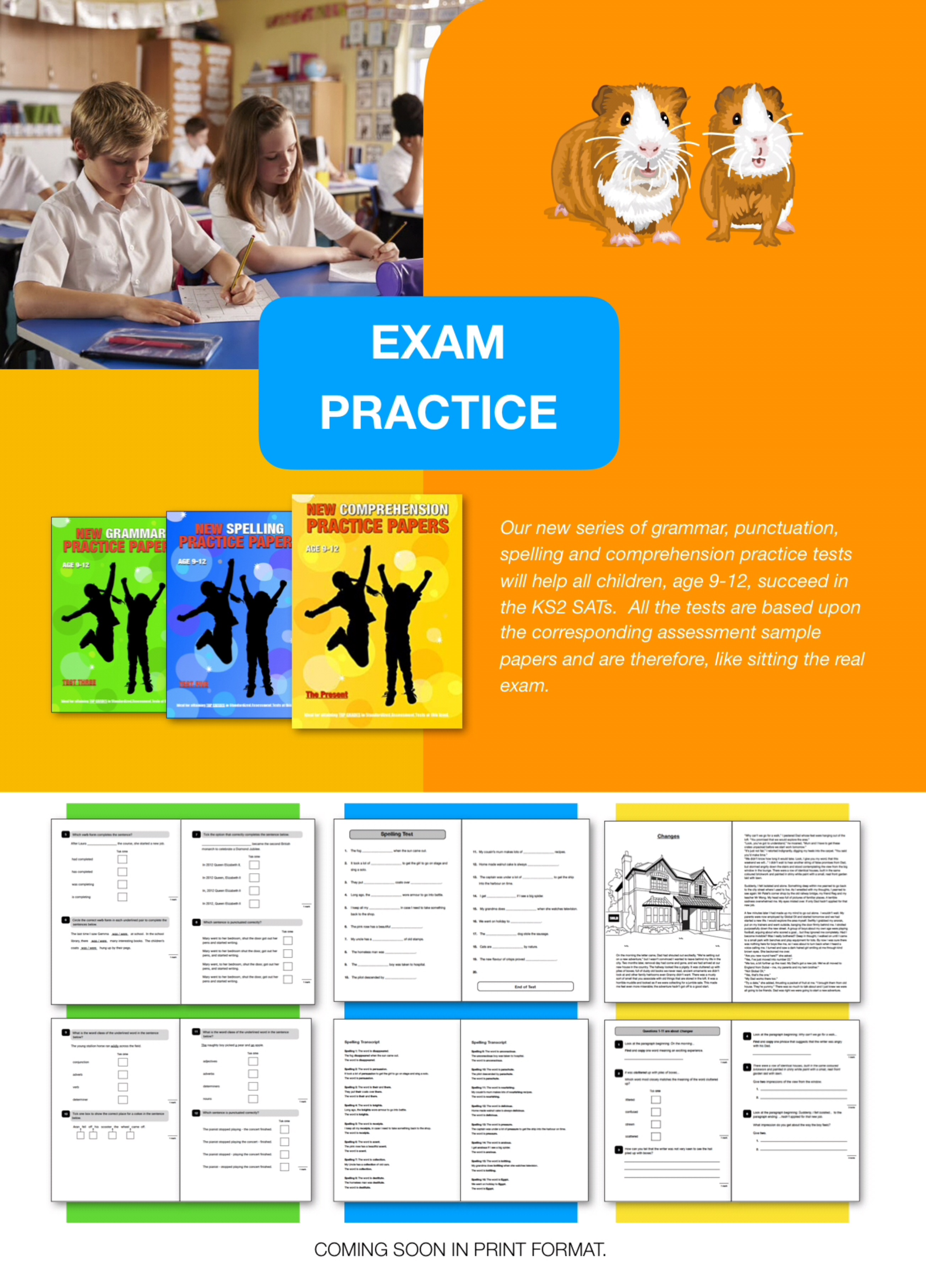 Highly Recommended: Learn Comprehension Skills 'The Present' 9-12 years
