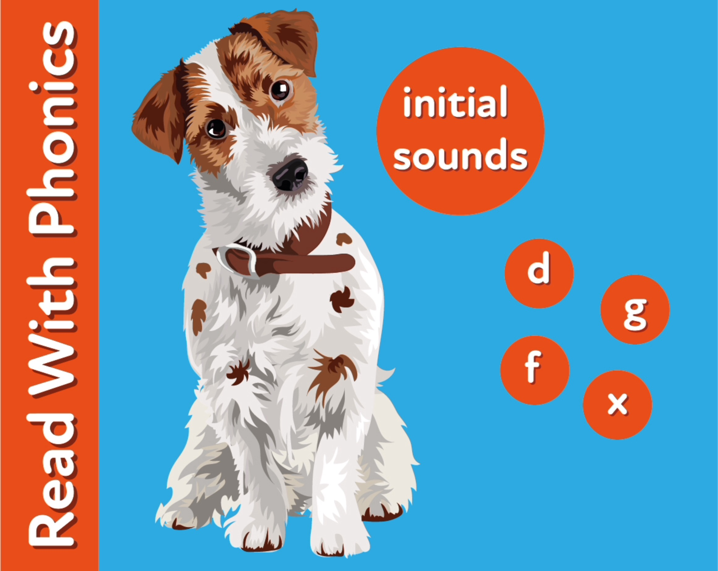 Learn The Initial Phonic Sounds  'd, g, f, x' (3 +)
