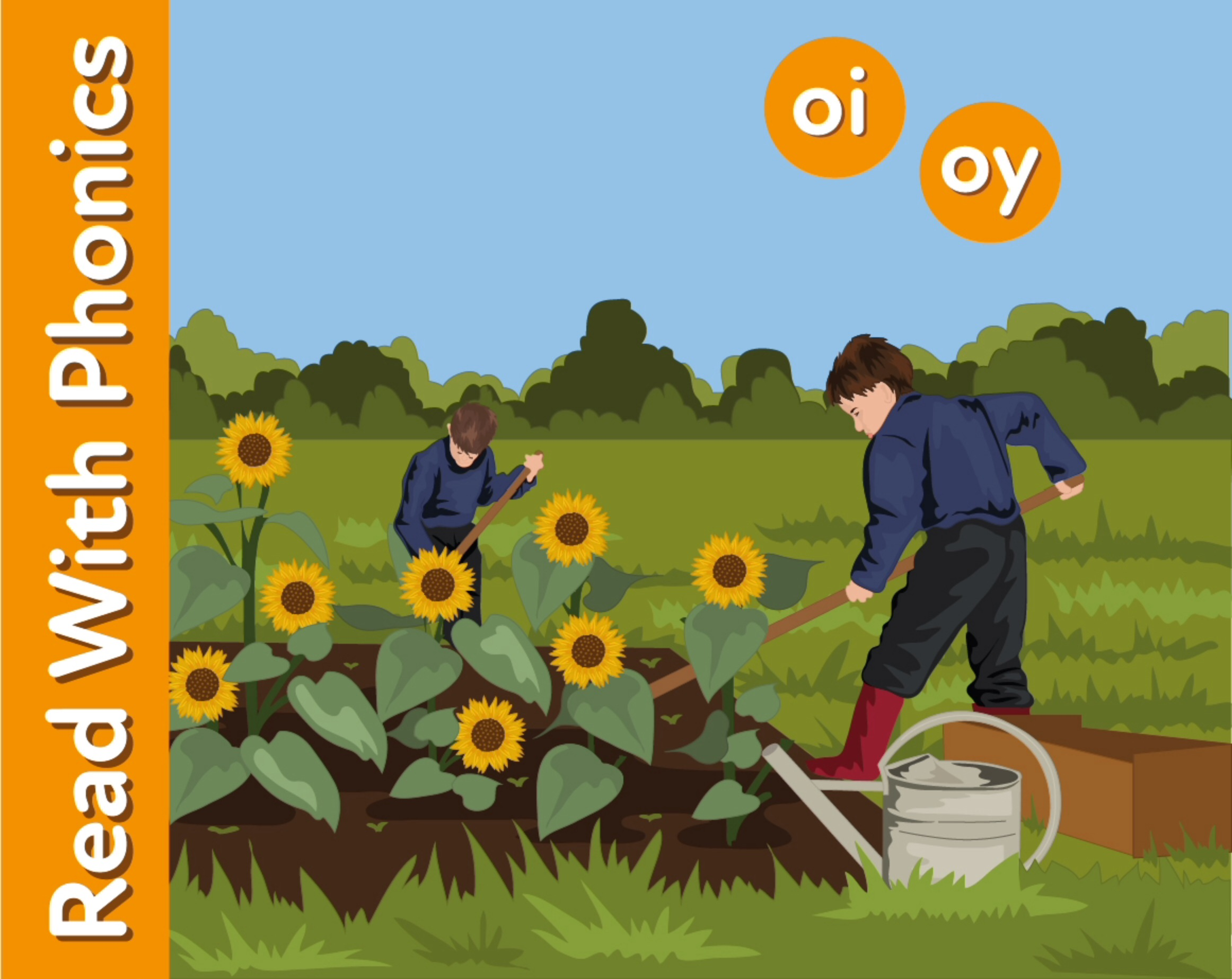 Learn The Phonic Sounds 'oi' and 'oy'