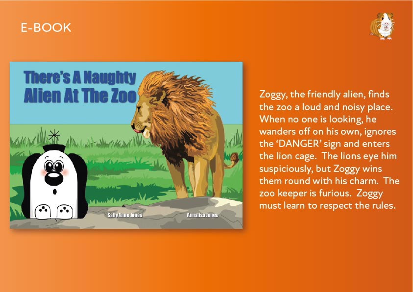 There's A Naughty Alien At The Zoo E-Book