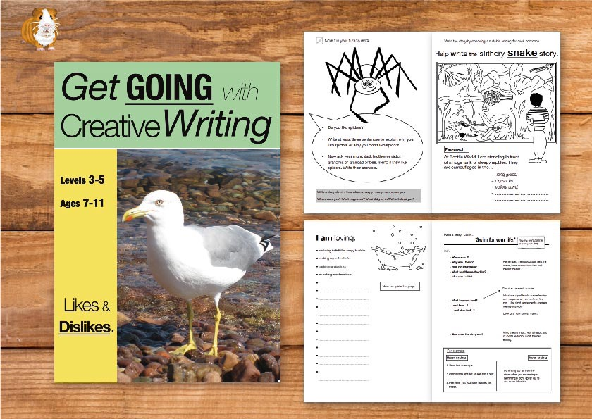 Likes & Dislikes: Get Going With Creative Writing (and other forms of writing) Print Version