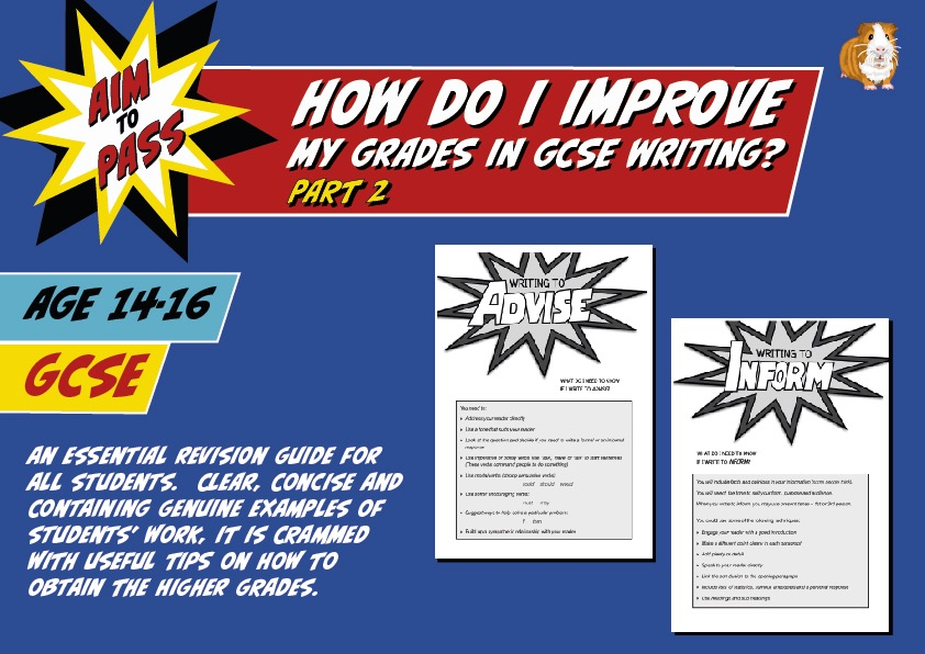 PART 2: How Do I Improve My Grades In GCSE English? (14-16 years)