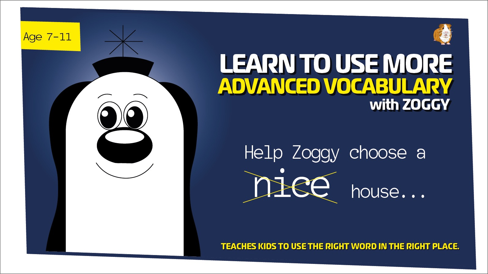 Improve Vocabulary Worksheet: Replace The Word Nice - Part 2 (Age 7-11)