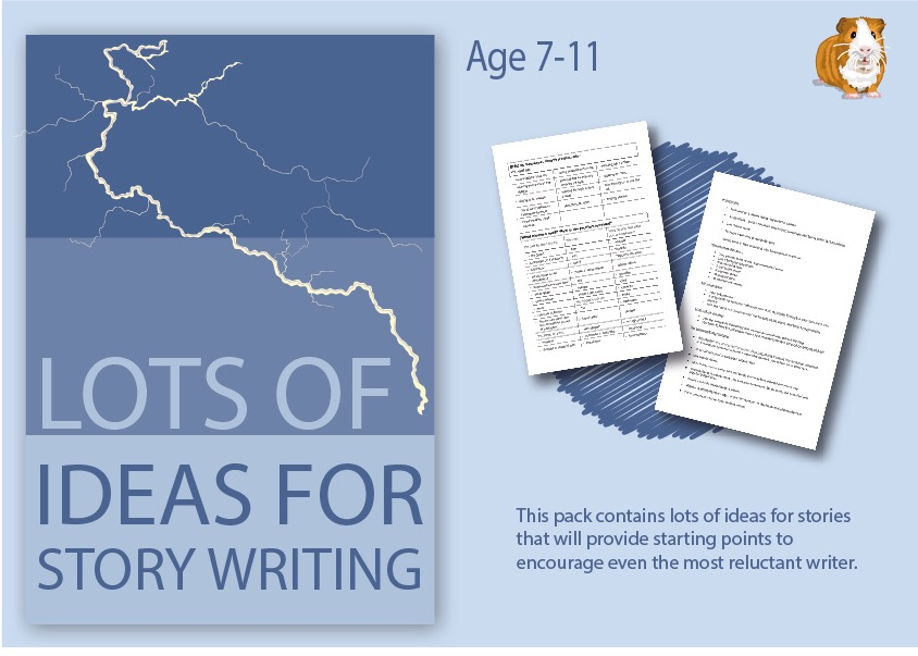 Lots Of Ideas For Story Writing (7-13 years)