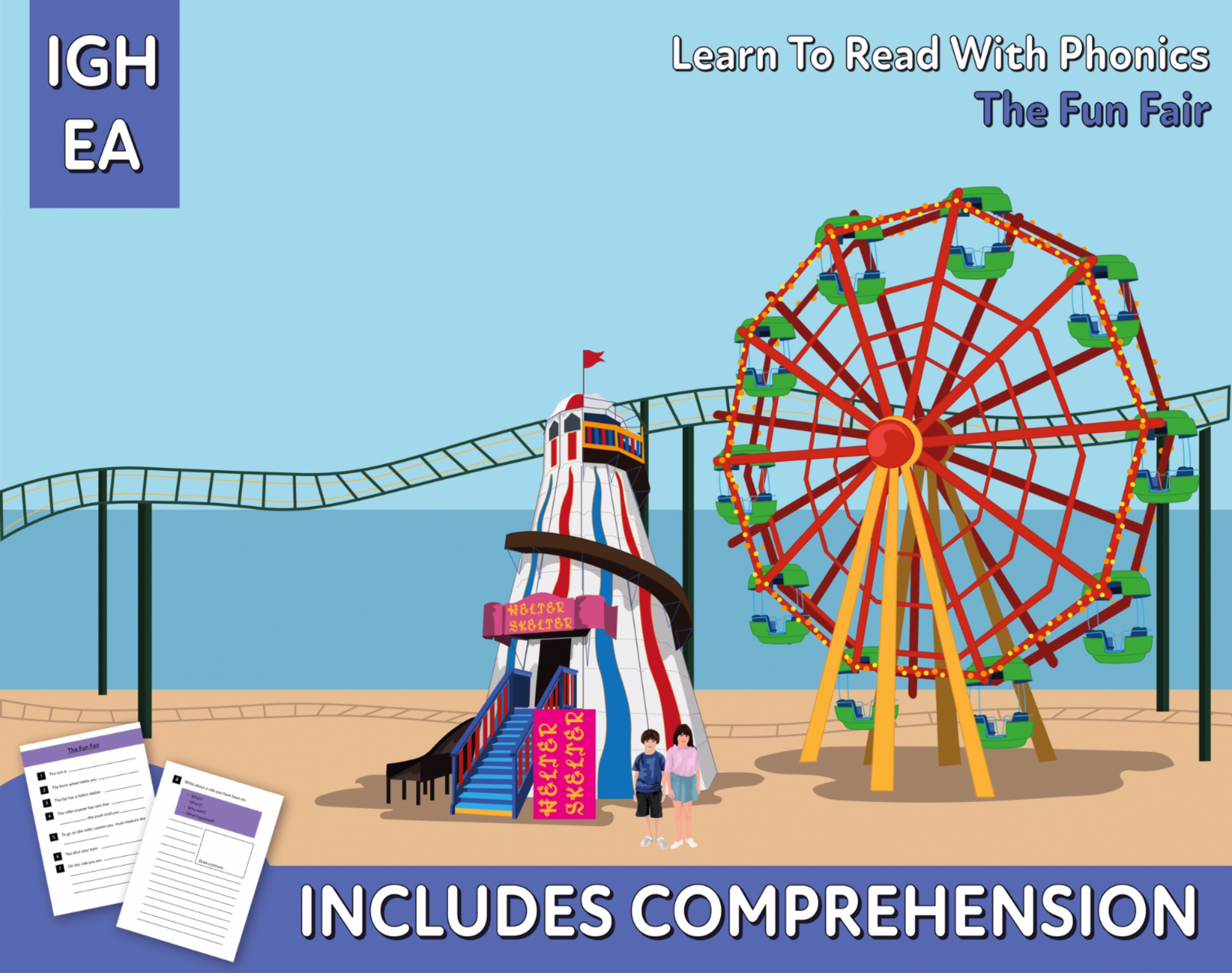 Reading Comprehension 'The Fun Fair' (4-8 years)
