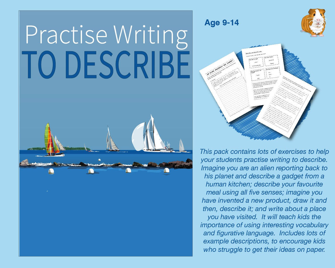 Practise Writing To Describe (9-13 years)
