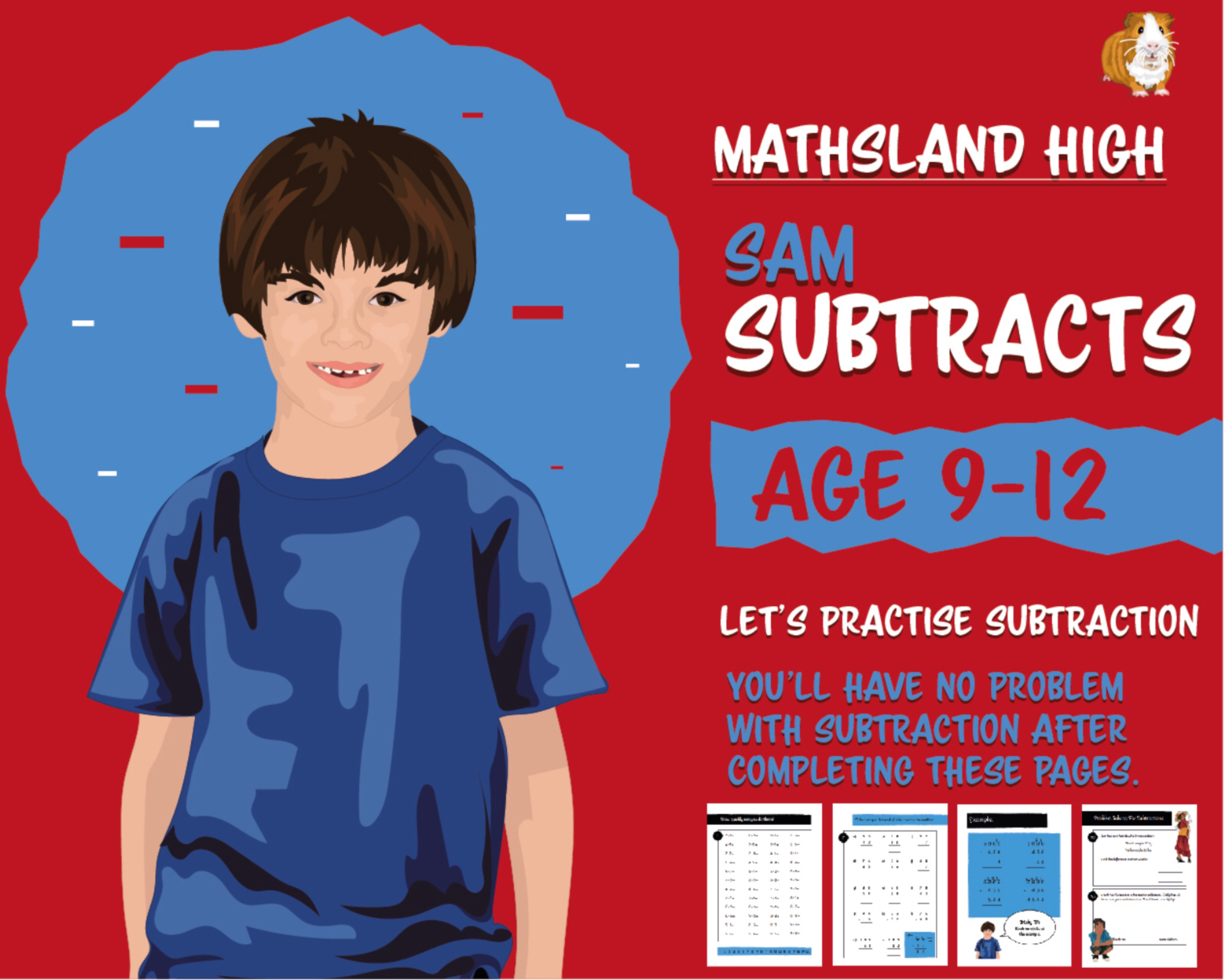 Let's Practise Maths: Subtractions (9-12 years)