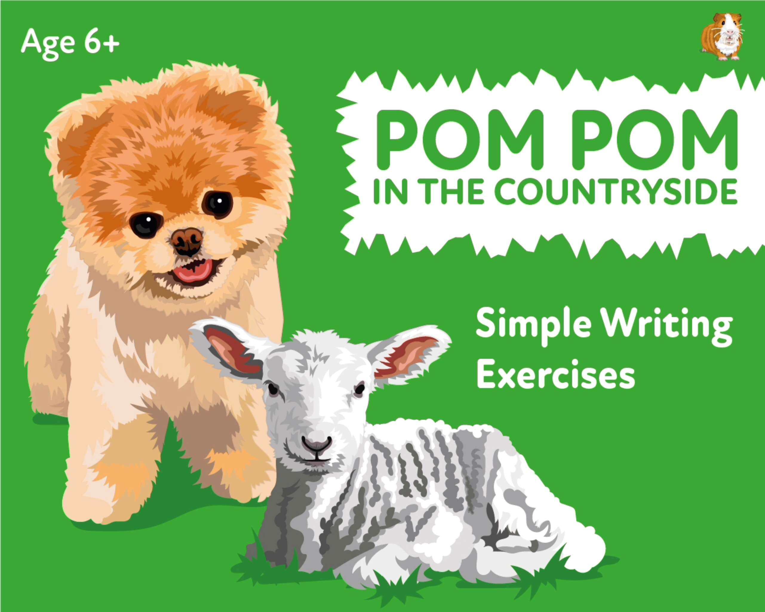 'Pom Pom In The Countryside' A Fun Writing And Drawing Activity (4 years +)
