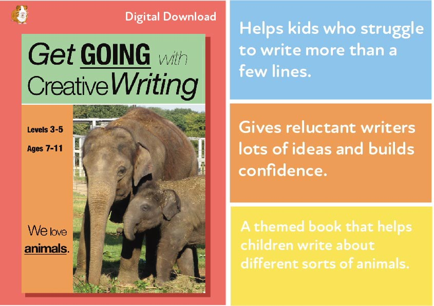 We Love Animals: Get Going With Creative Writing (and other forms) (7-11) Digital Download
