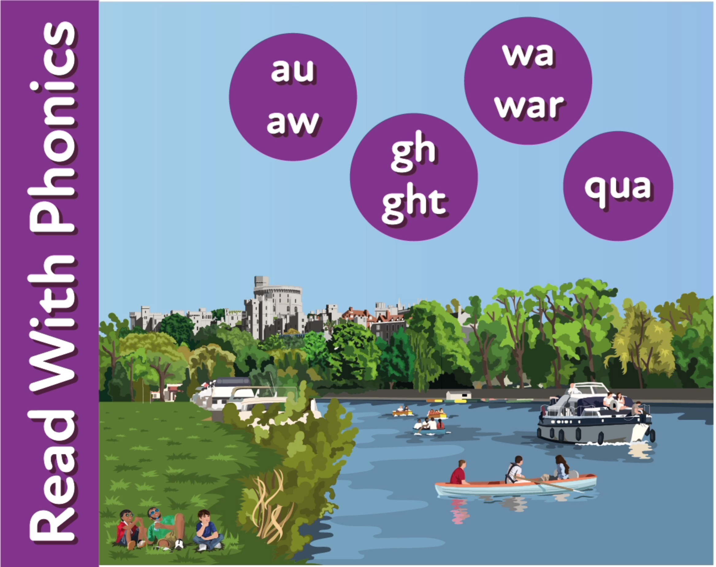 The River Trip: Reinforces The Phonic Sounds 'au' and 'aw'