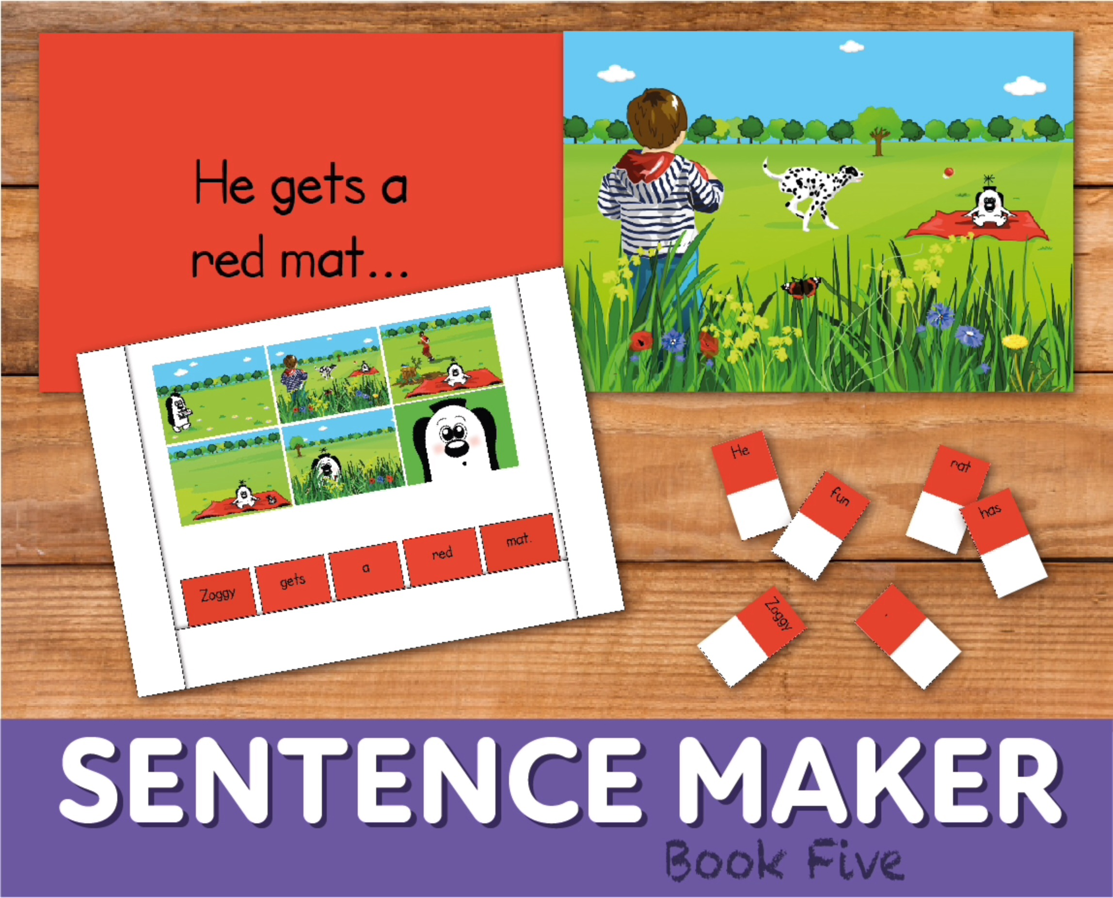 Make Sentences With The Sentence Maker: Book 5