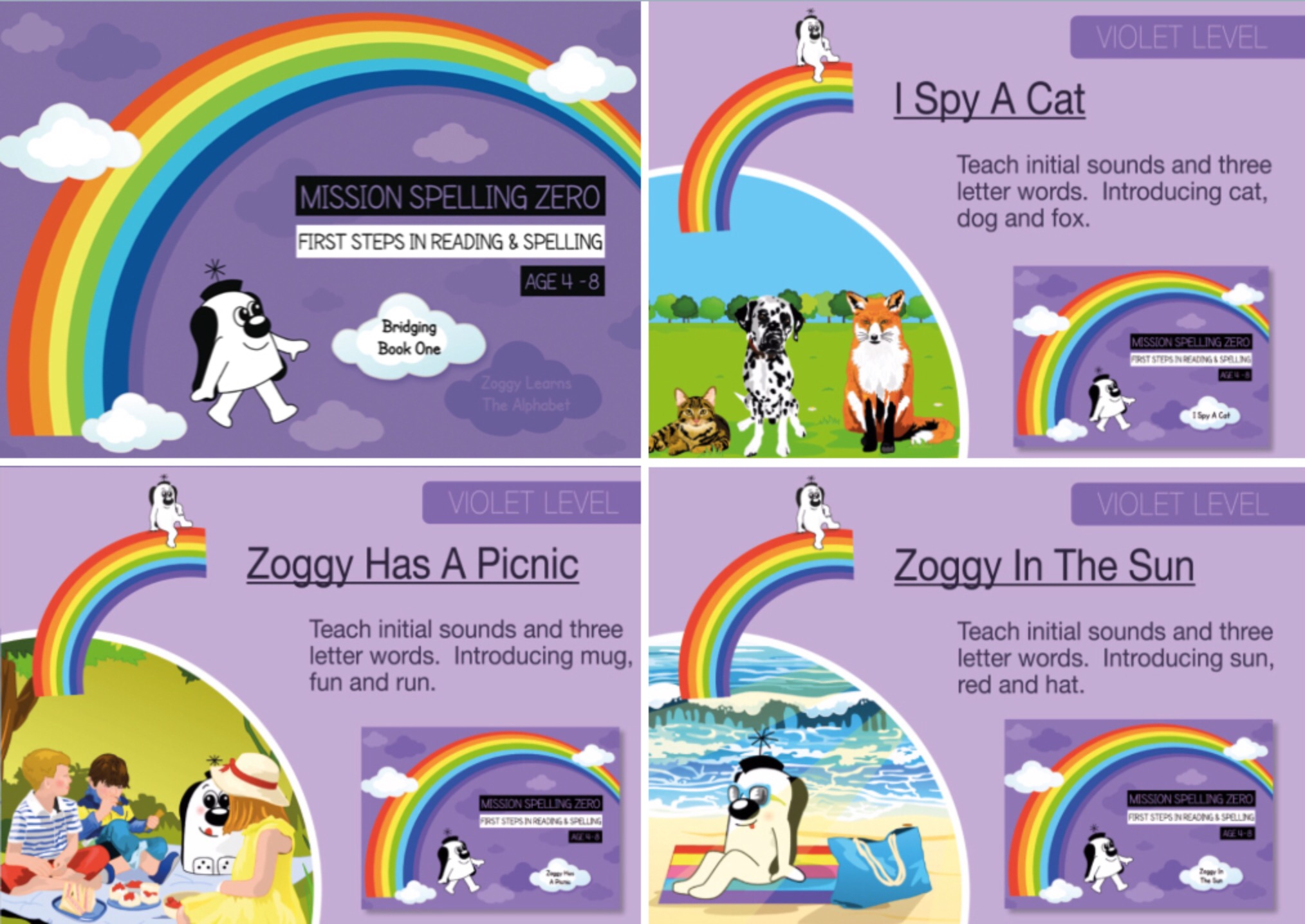 Phonics And Spelling Practice: Initial Sounds & Three Letter Words (Series 1) Print Edition