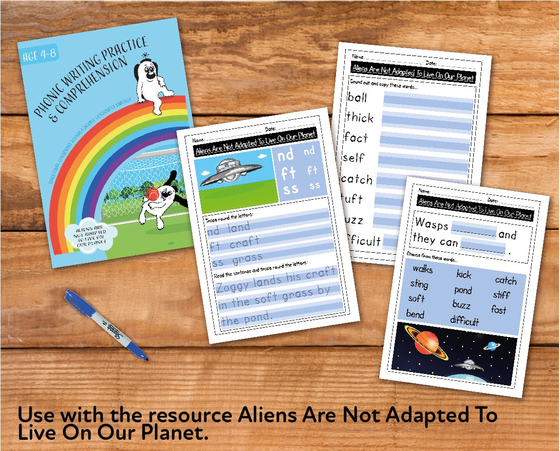 Aliens Are Not Adapted To Our Planet (E-book)