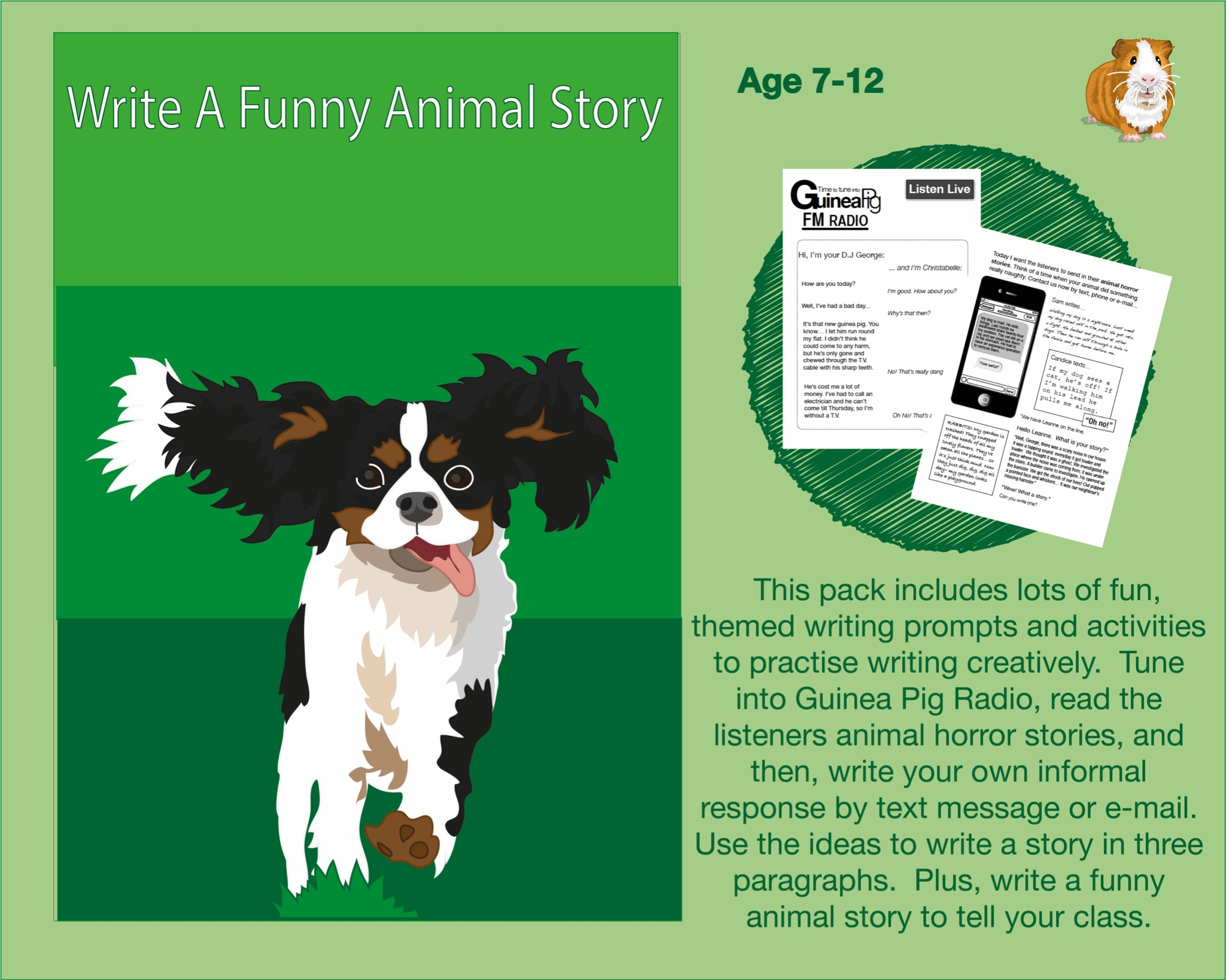 Write A Funny Animal Story (7-12 years)