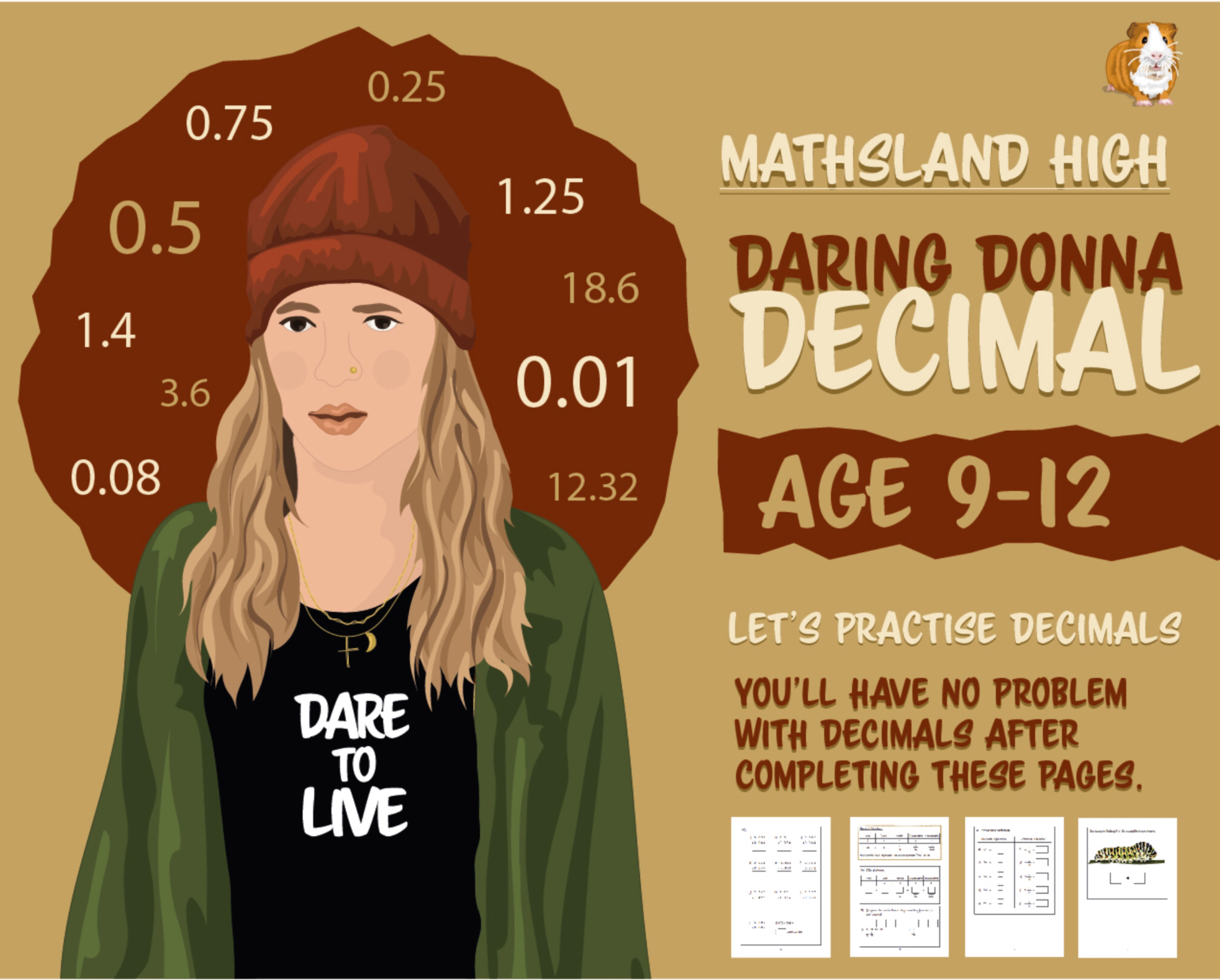 Let's Practise Maths: Decimals (9-12 years)