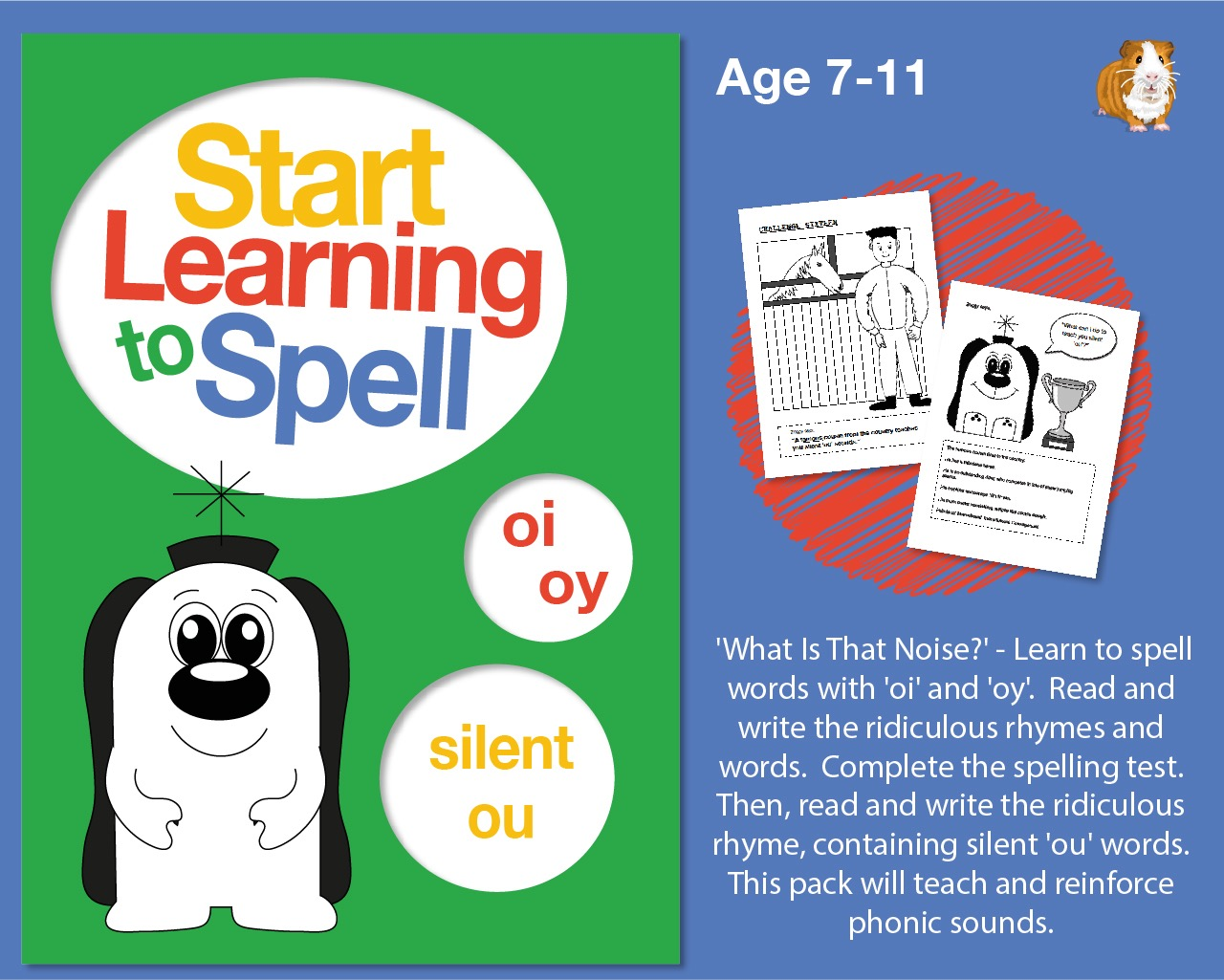 Spell Words With 'oi', 'oy' & Silent 'ou': Learn To Spell With Phonics (7-11 years)