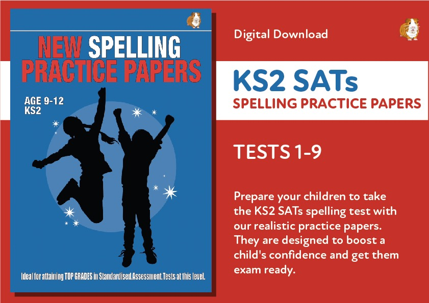 KS2 SATs Spelling Practice Papers - Tests 1-9 (Age9-12)