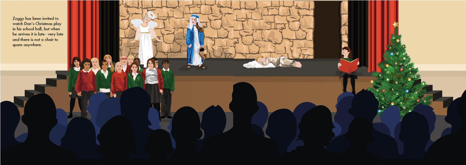 There's An Alien At The Nativity Play E-Book