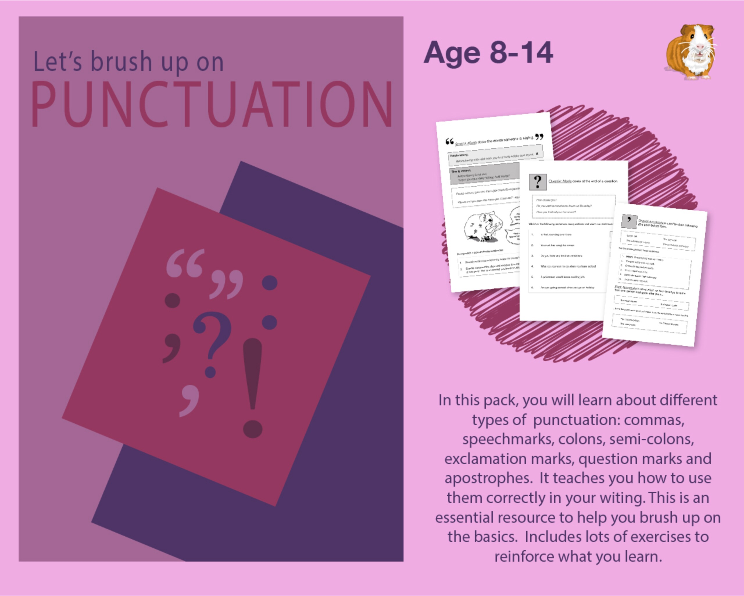 Let's Brush Up On Punctuation And Parts Of Speech (9-14 years)