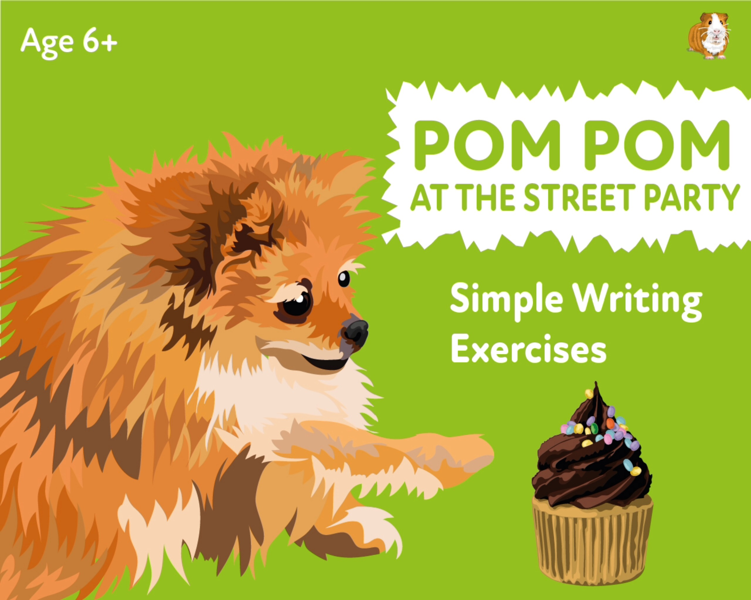 'Pom Pom At The Street Party' A Fun Writing And Drawing Activity (6 years +)