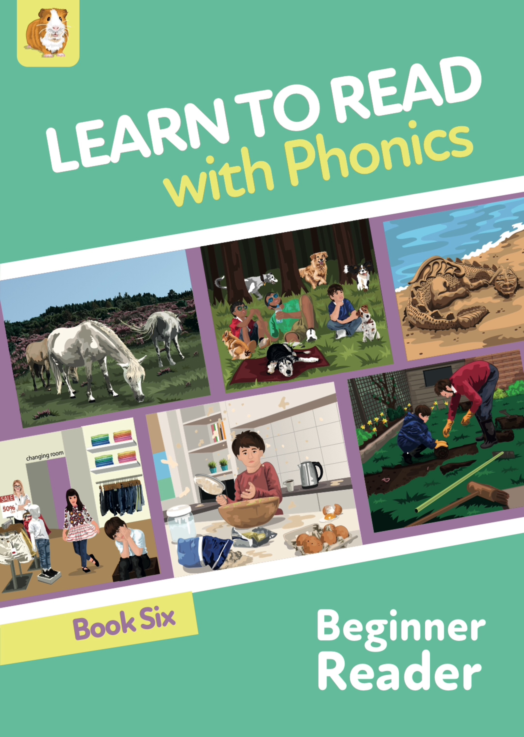Learn To Read Rapidly With Phonics: Beginner Reader Book 6: Digital Download