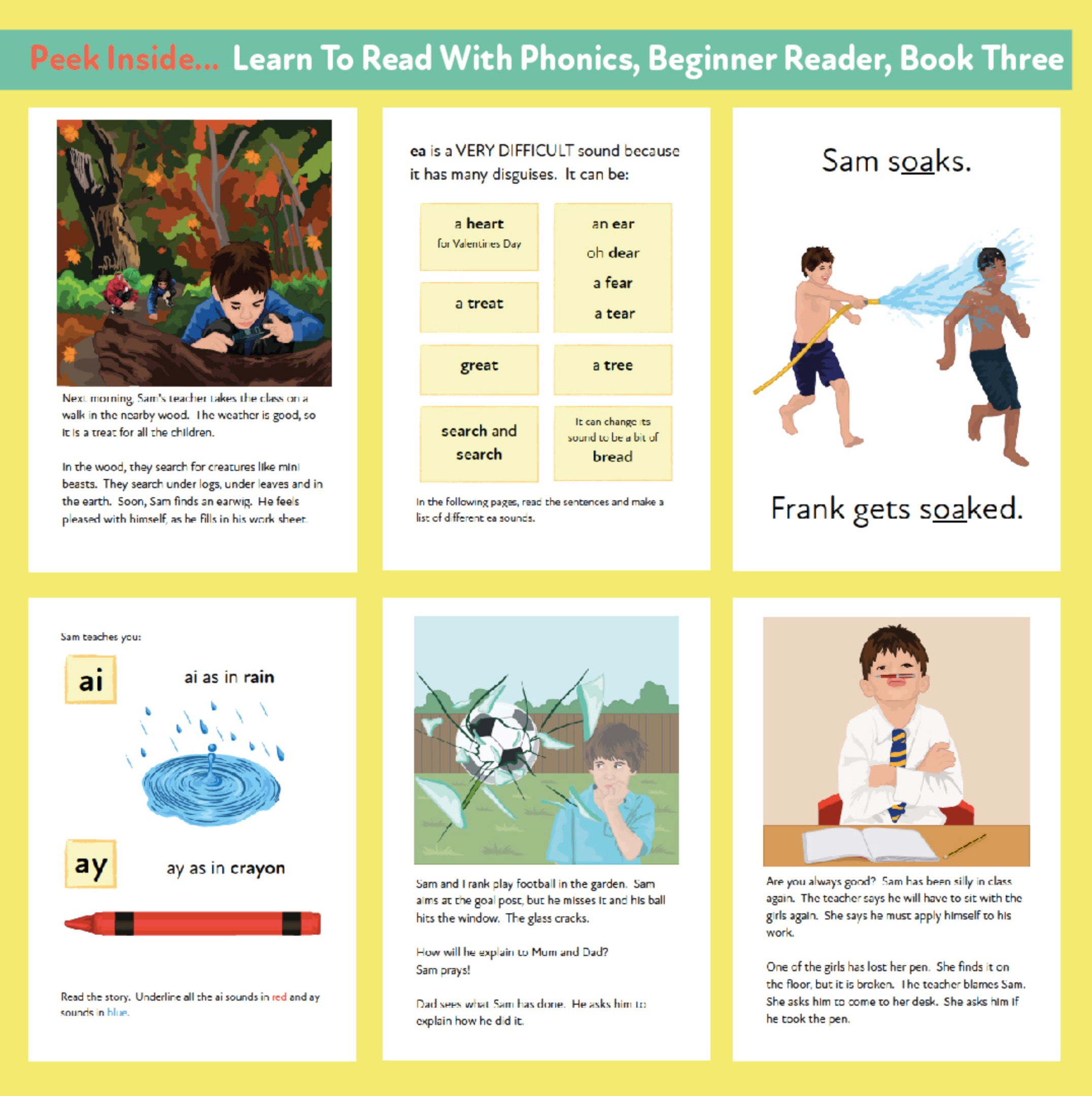 Learn to Read Rapidly with Phonics: Beginner Reader Book 3: Print Book