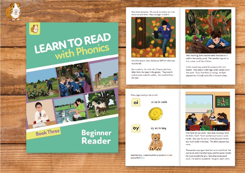 5. Learn to Read with Phonics | Beginner Reader Book 3 | Print Book