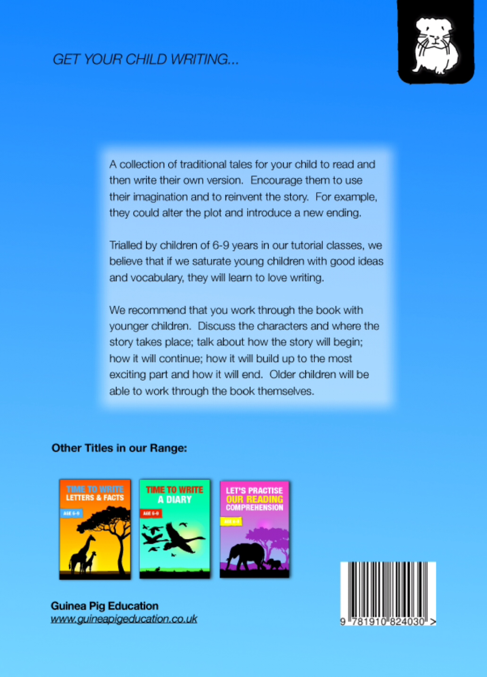 Let's Imagine And Write A Story (Time To Read & Write series) 6-9 years)  Print Version